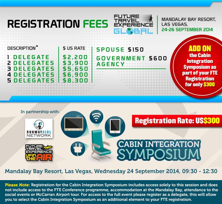 FTE Global 2014 - Registration Fees