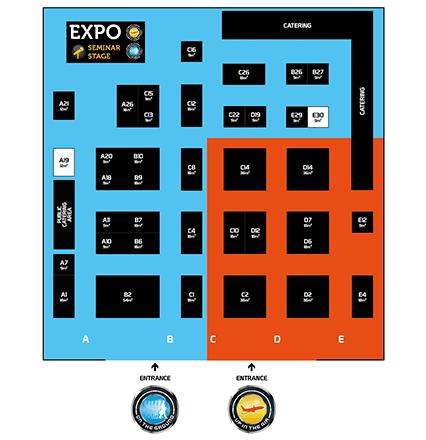 FTE Asia EXPO Floorplan