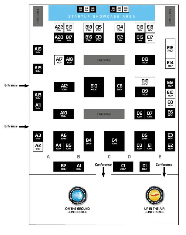 FTE Global 2015 floorplan