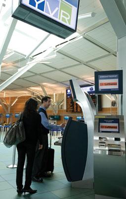 YVR Self-Service Kiosk
