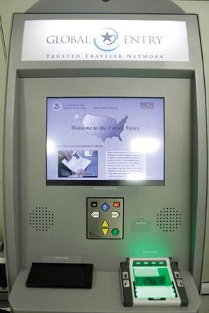 US Entry Kiosk