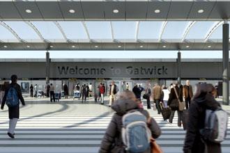 Gatwick unveils immigration hall improvements