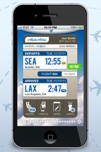 Alaska Airlines app