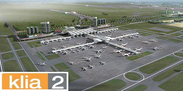 Aerial view of Kuala Lumpur International Airport