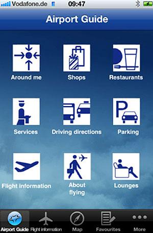 Frankfurt Airports mobile app