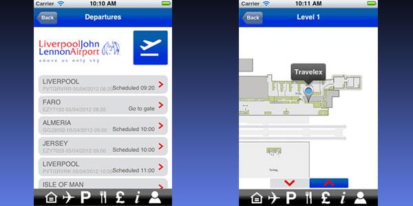 myLJA - Liverpool John Lennon Airport's new mobile app