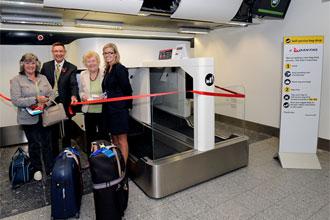 Heathrow and Qantas start bag drop trial