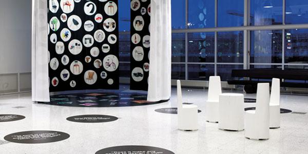 helsinki airport opens interactive design gallery