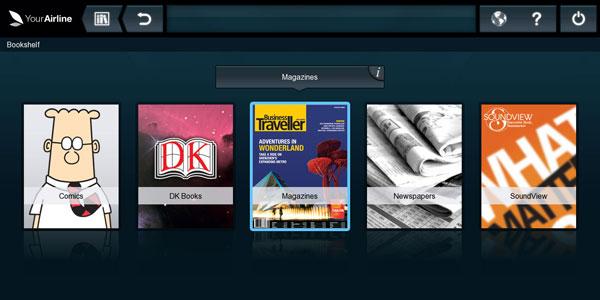 DTI's eReader integrates into flydubai's aircraft's touch screen passenger consoles