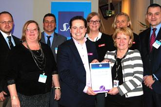 SAS first to achieve Fast Travel platinum status