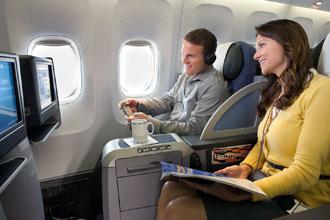 United Airlines upgrade premium service