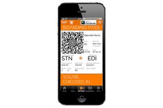 easyJet trials mobile boarding passes