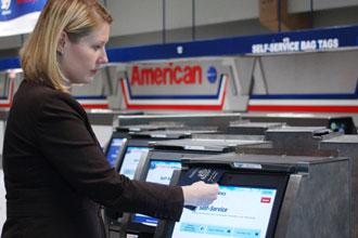 American Airlines installs self-service baggage drop at Miami International Airport
