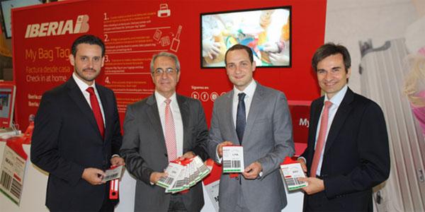 Iberia launch My Bag Tag - Home printed baggage tags