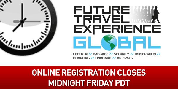 Online registration closes midnight Friday PDT