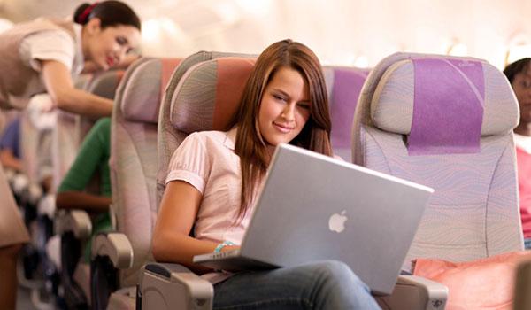 Emirates Wi-Fi access