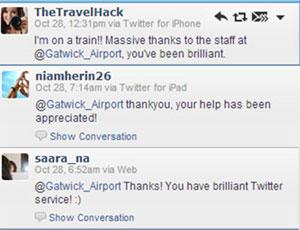 Gatwick Airport Twitter