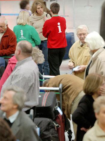 Gatwick Airport volunteers
