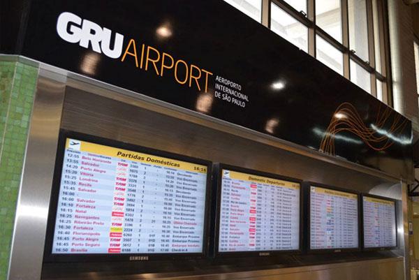 Sao Paulo-Gaurulhos International Airport upgrades its IT