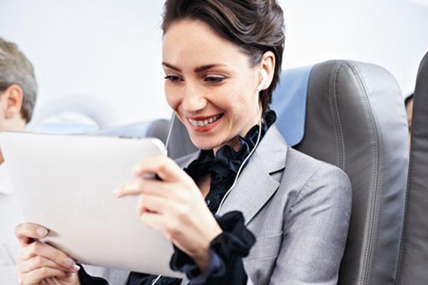 In-flight entertainment on short- and medium-haul flights