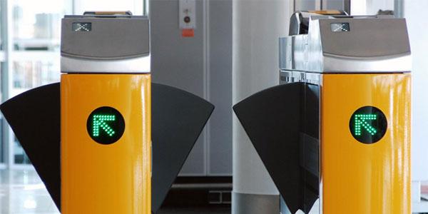 SITA NFC boarding gates at Amsterdam Airport Schiphol