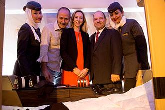 Etihad partners with ACPN to improve in-flight sleep and comfort
