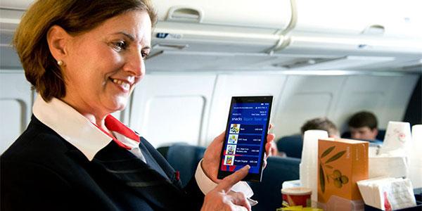 Delta Cabin crew - Nokia Lumia 1520 phablets