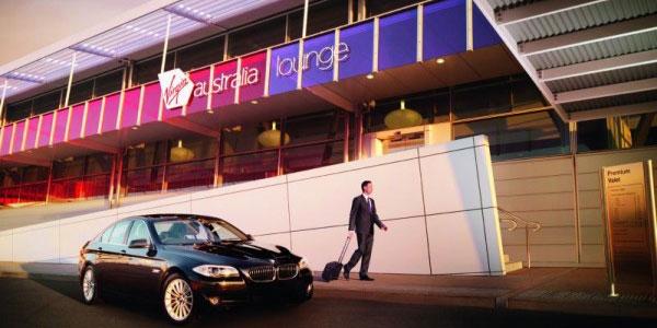 Virgin Australia kerbside lounge access
