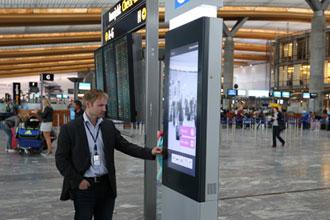 Oslo Airport installs self-service wayfinding kiosks