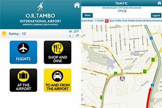 New ACSA app provides airport, flight and rail information