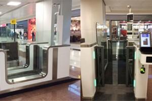 New eGates at Sao Paulo Airport