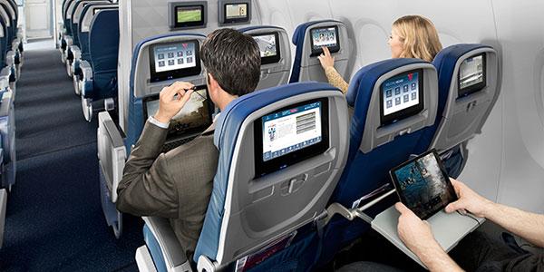 Delta, American, JetBlue, Southwest battle for IFE supremacy