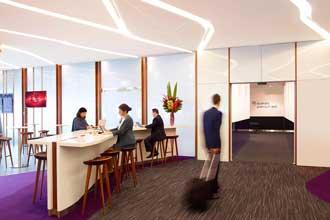 Virgin Australia launches 'Premium Exit' in Melbourne lounge
