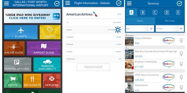 Dallas/Fort Worth International Airport app