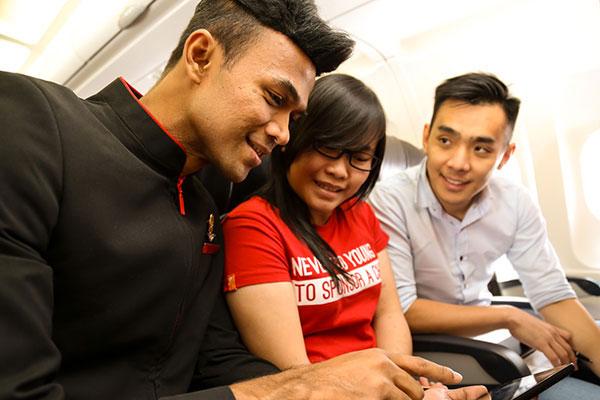 AirAsia onboard Wi-Fi