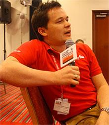 Steve Dickinson AirAsia