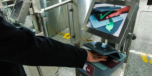 EasyPASS automated border control e-gates