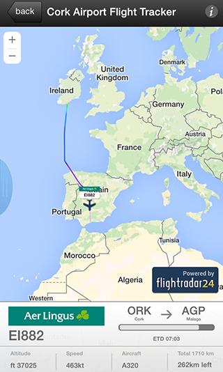 Cork Airport - flightradar24