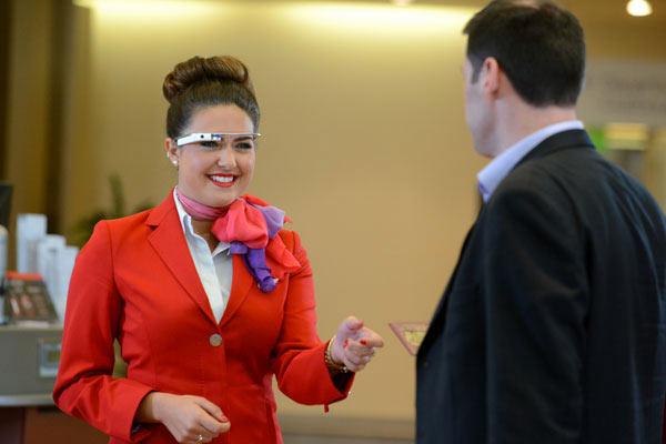 Virgin Atlantic has been a pioneer of Google Glass