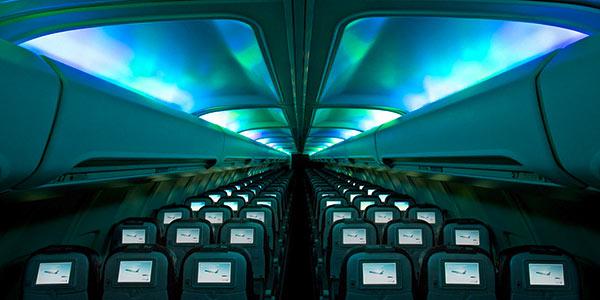 Boeing 757 Hekla Aurora aircraft