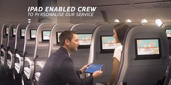 Thomson Airways iPads