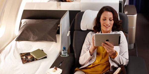 Lufthansa long haul services