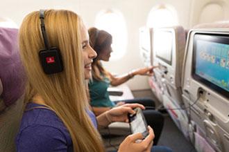 Emirates' latest IFE investment focuses on audio enhancement