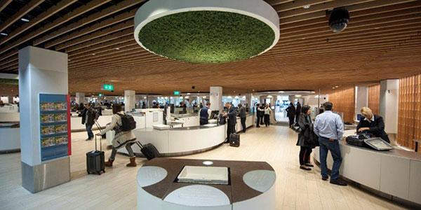 Schiphol departure hall