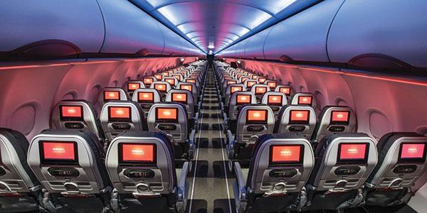 Avianca A320 interior