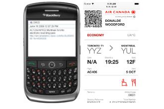 Air Canada updates electronic boarding passes to simplify TSA PreCheck experience
