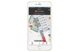 HKIA trialling beacon-based mobile wayfinding