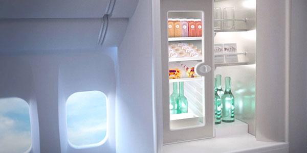 Premium Economy larder fridge
