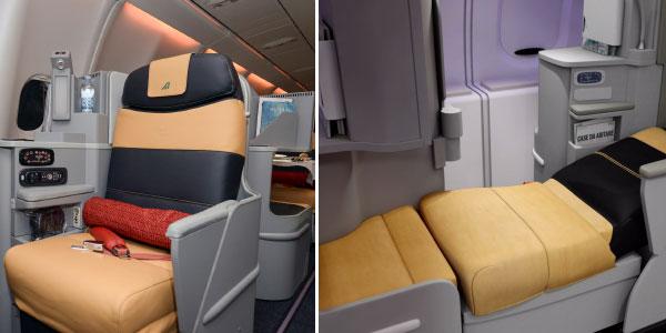 Alitalia new cabins