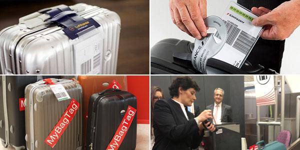 IATA bag tags